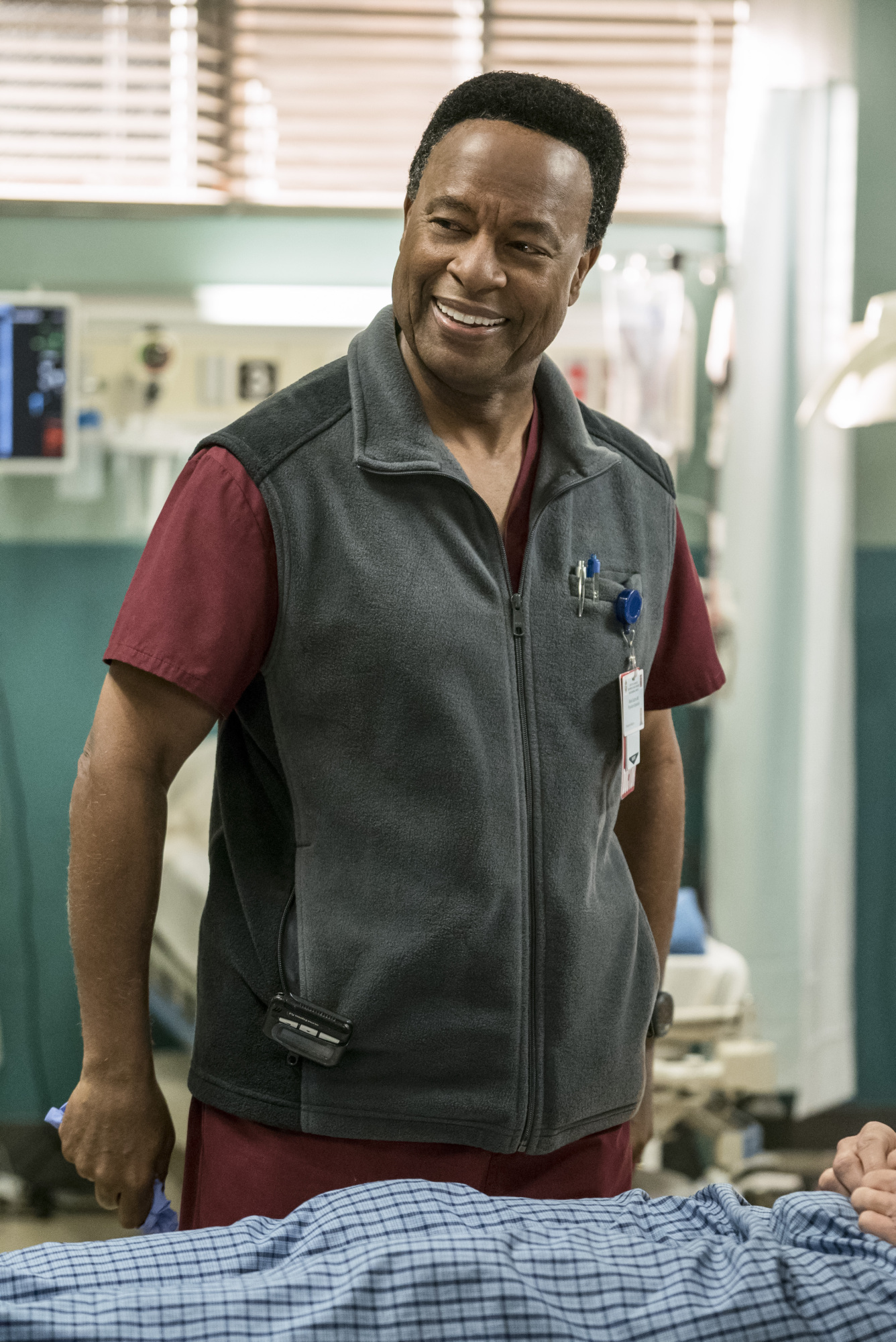 William Allen Young as Dr. Rollie Guthrie