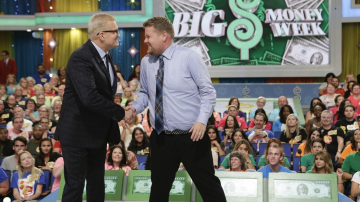 James Corden helps kick off #BigMoneyWeek on The Price Is Right!