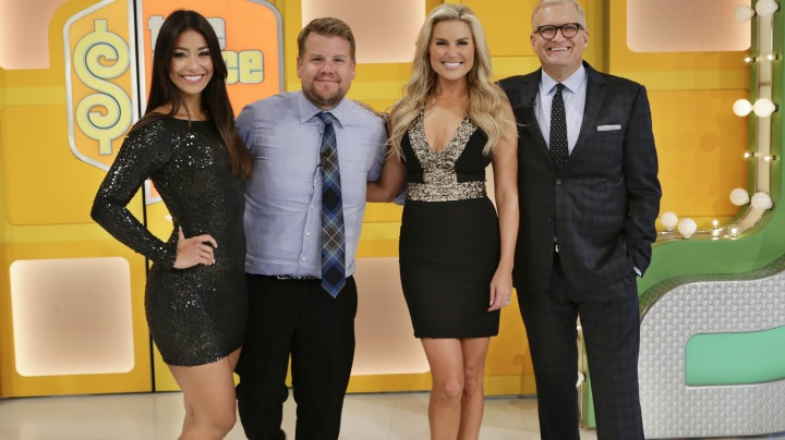 Corden fits right in with the best of them.