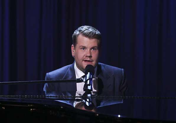 Corden's quite a crooner.