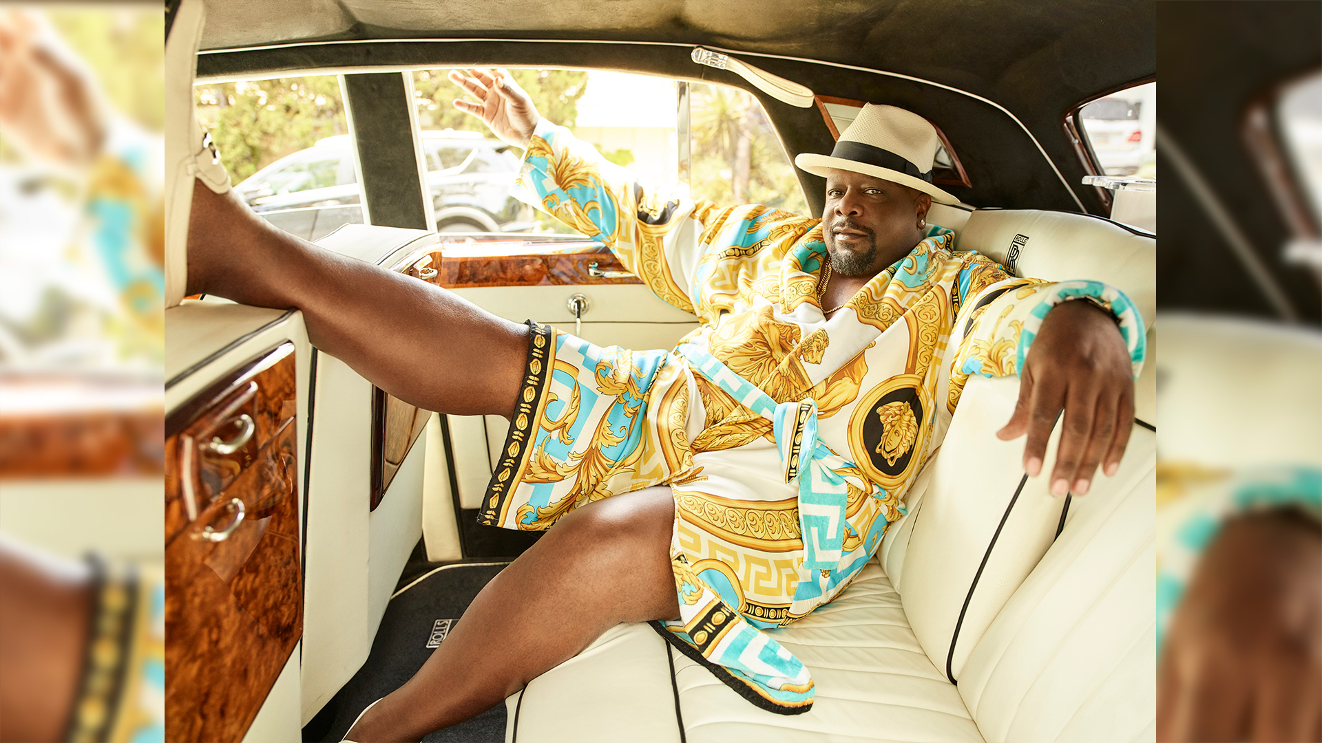Cedric the Entertainer is living the high life