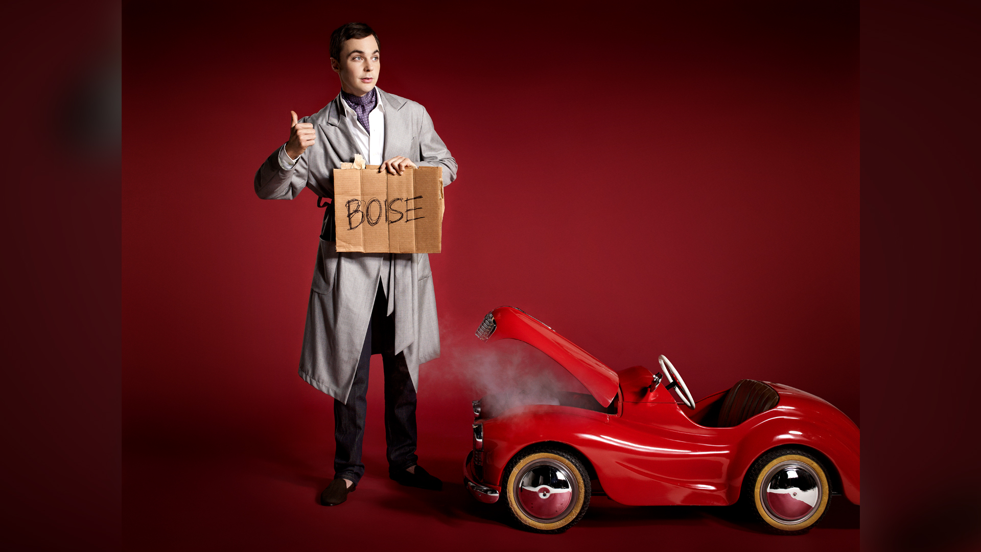Need a ride, Jim Parsons?