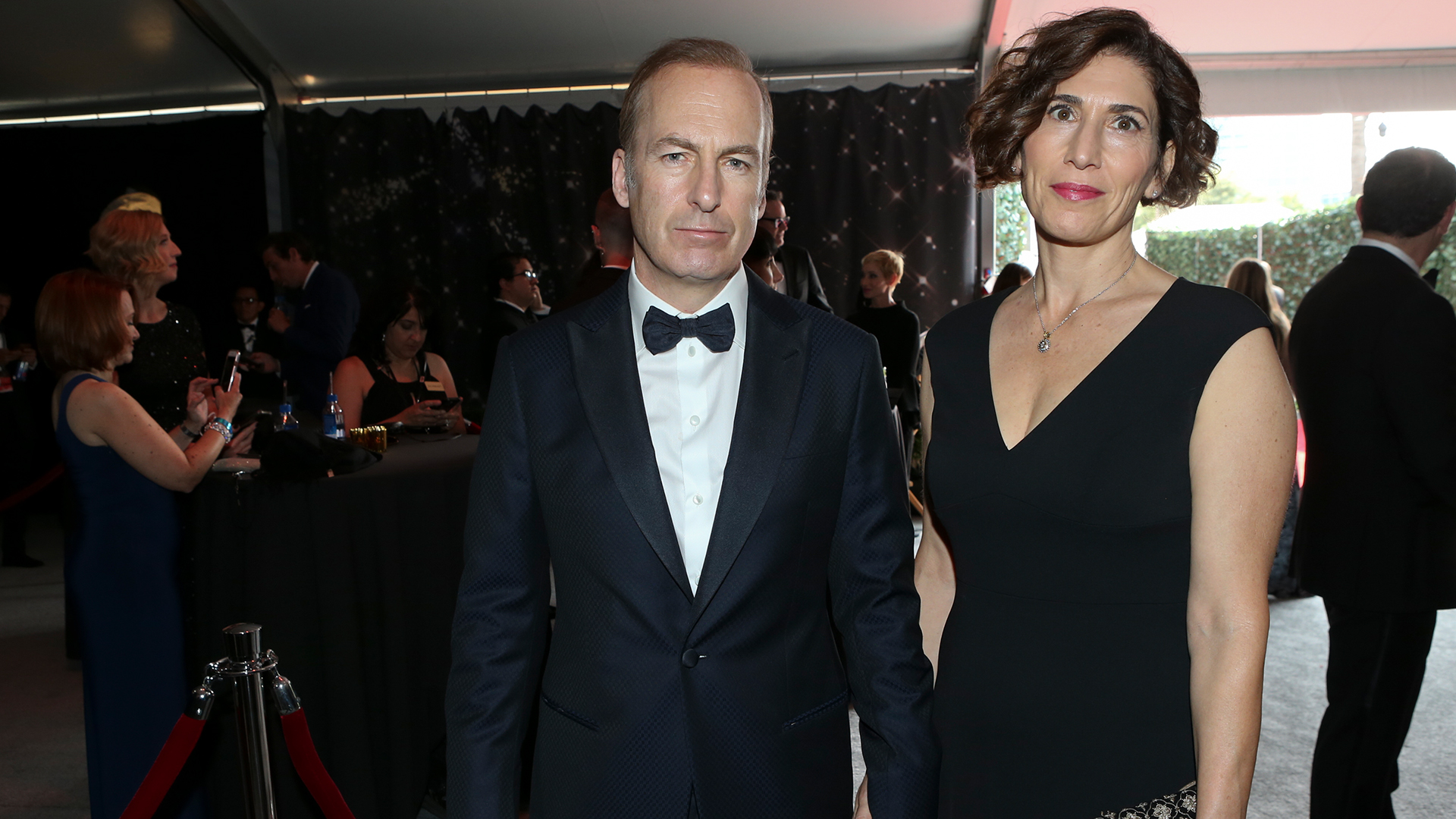 Bob Odenkirk from Better Call Saul and wife Naomi Odenkirk