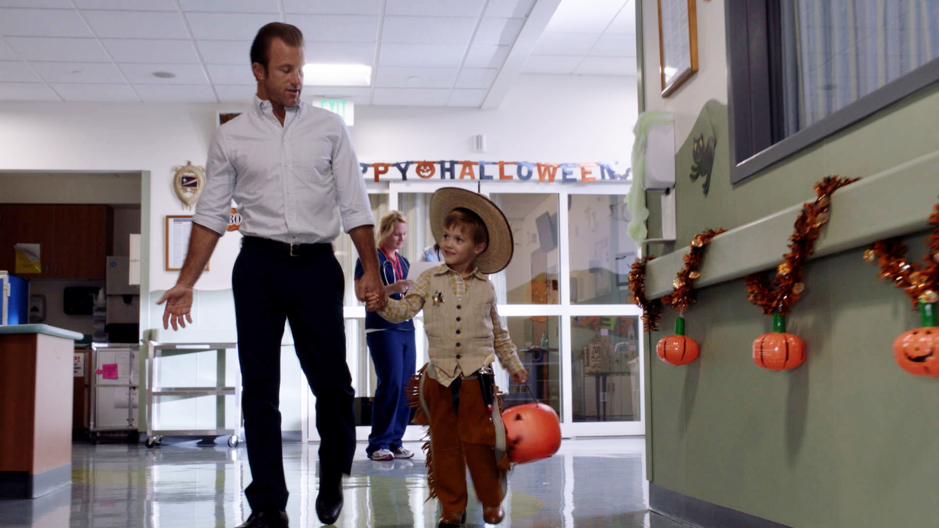 Danno being there for his kids