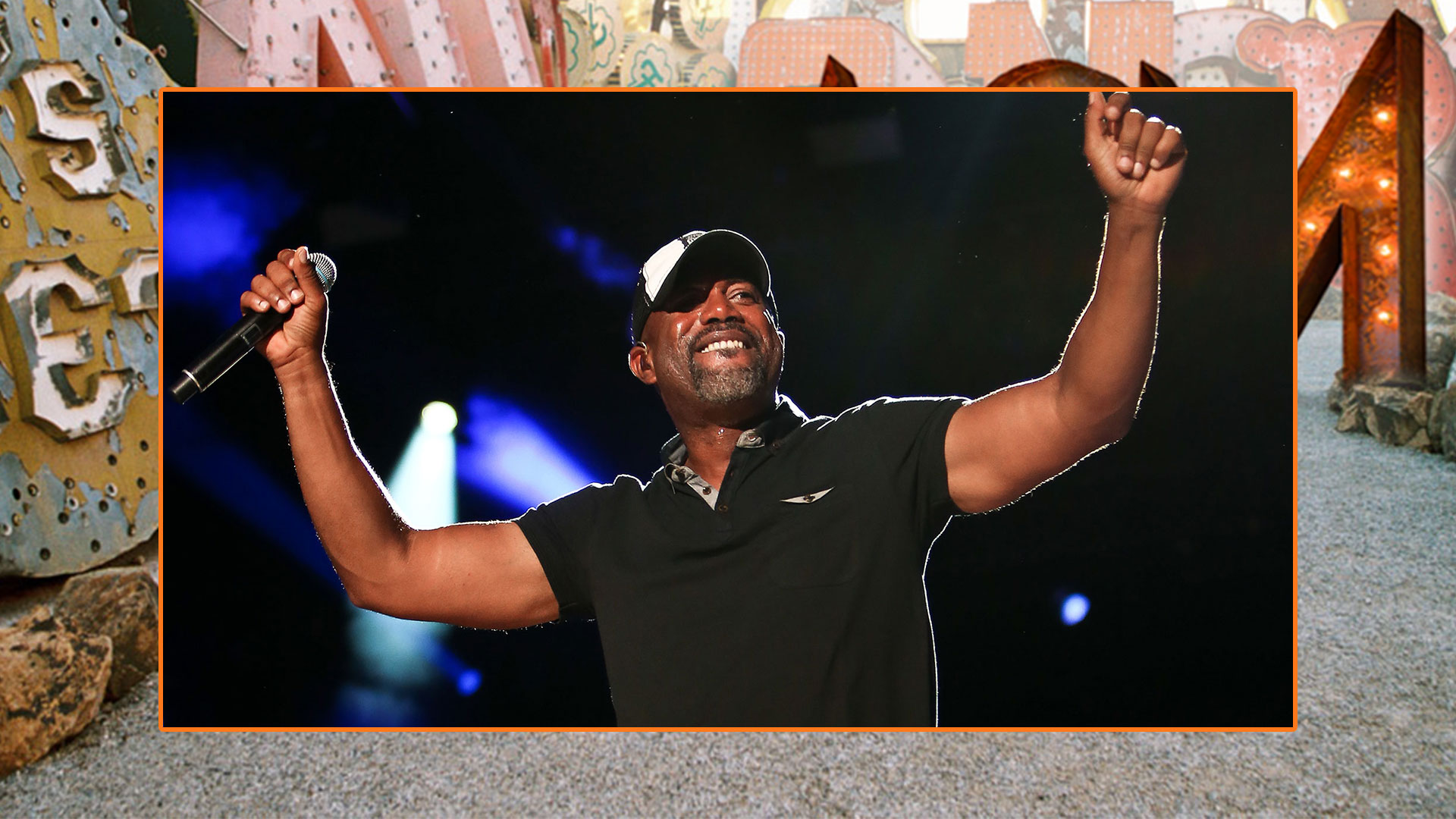 Darius Rucker's goatee is more than just