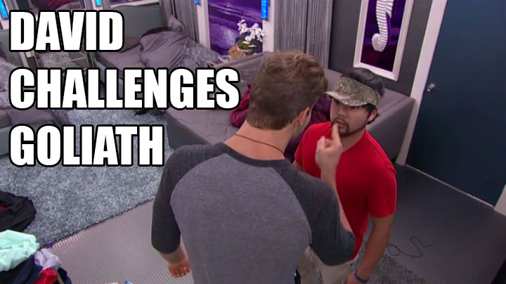 James confronts Clay before sending him packing.