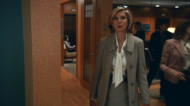 2. This look on Diane is one of my all-time favorite looks from all the seasons of The Good Wife.