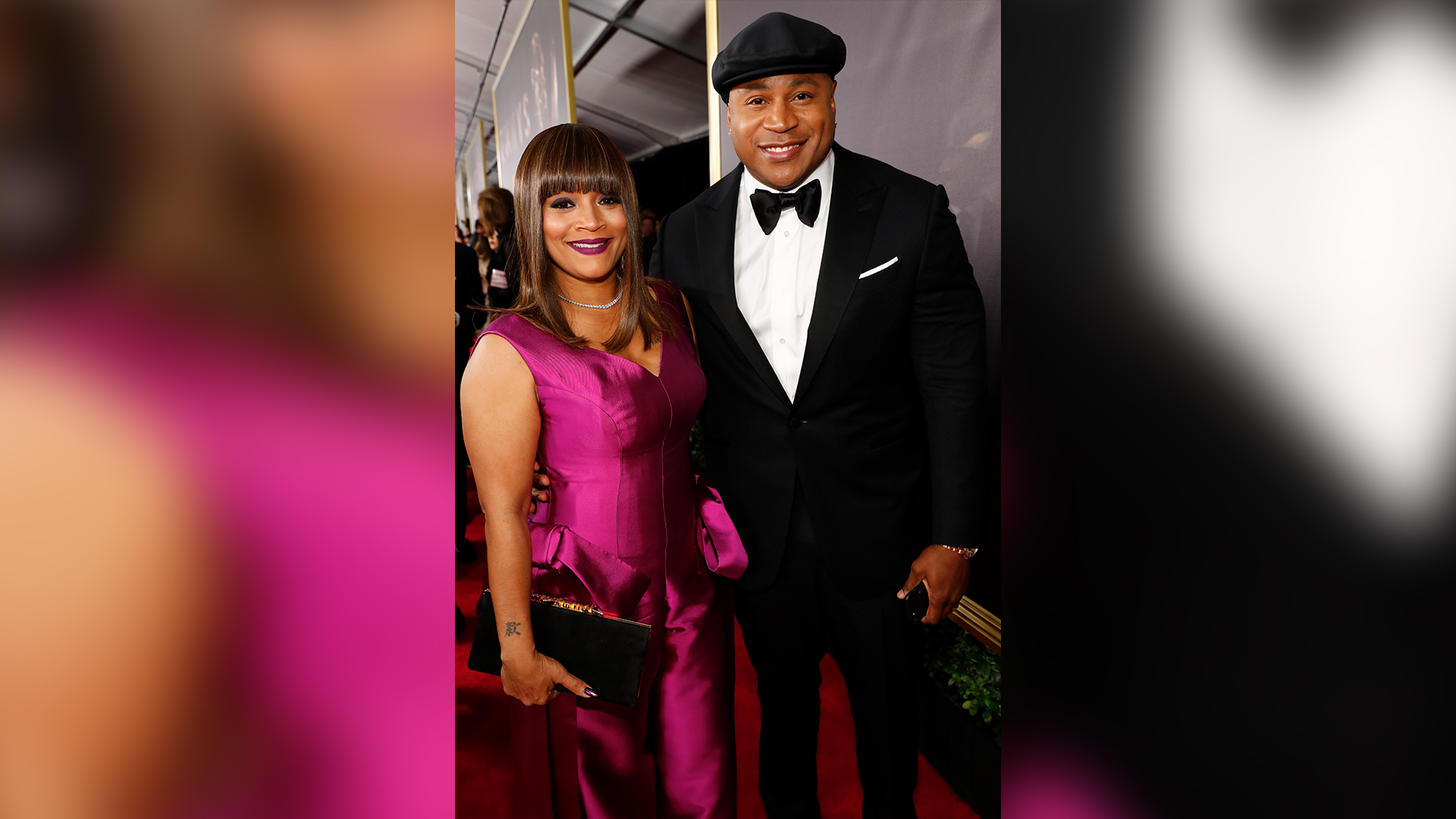 LL COOL J and wife Simone Smith
