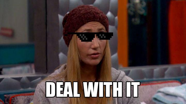 Vanessa doles out the deals.