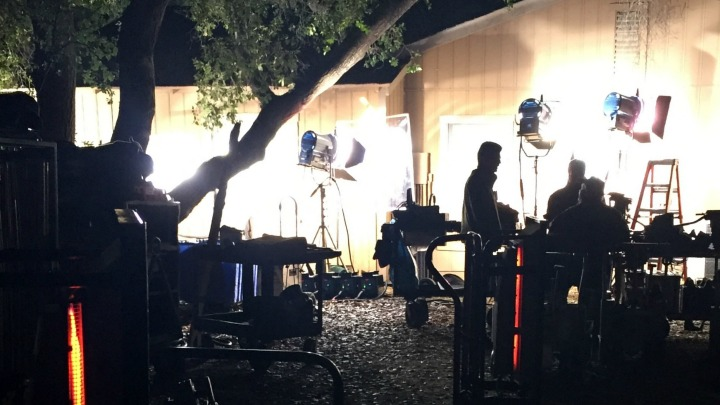 The opening sequences set at a Naval Operational Support Center in Reston, Virginia, were actually filmed into the wee hours outside the tall fences surrounding L.A. County's Pitchess Detention Center.