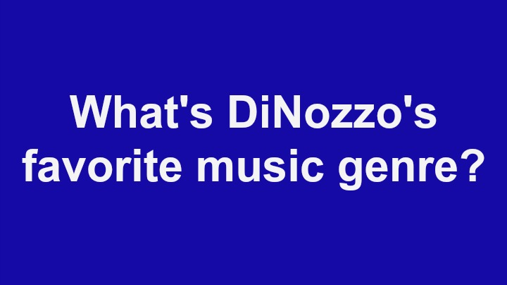 8. What's DiNozzo's favorite music genre?