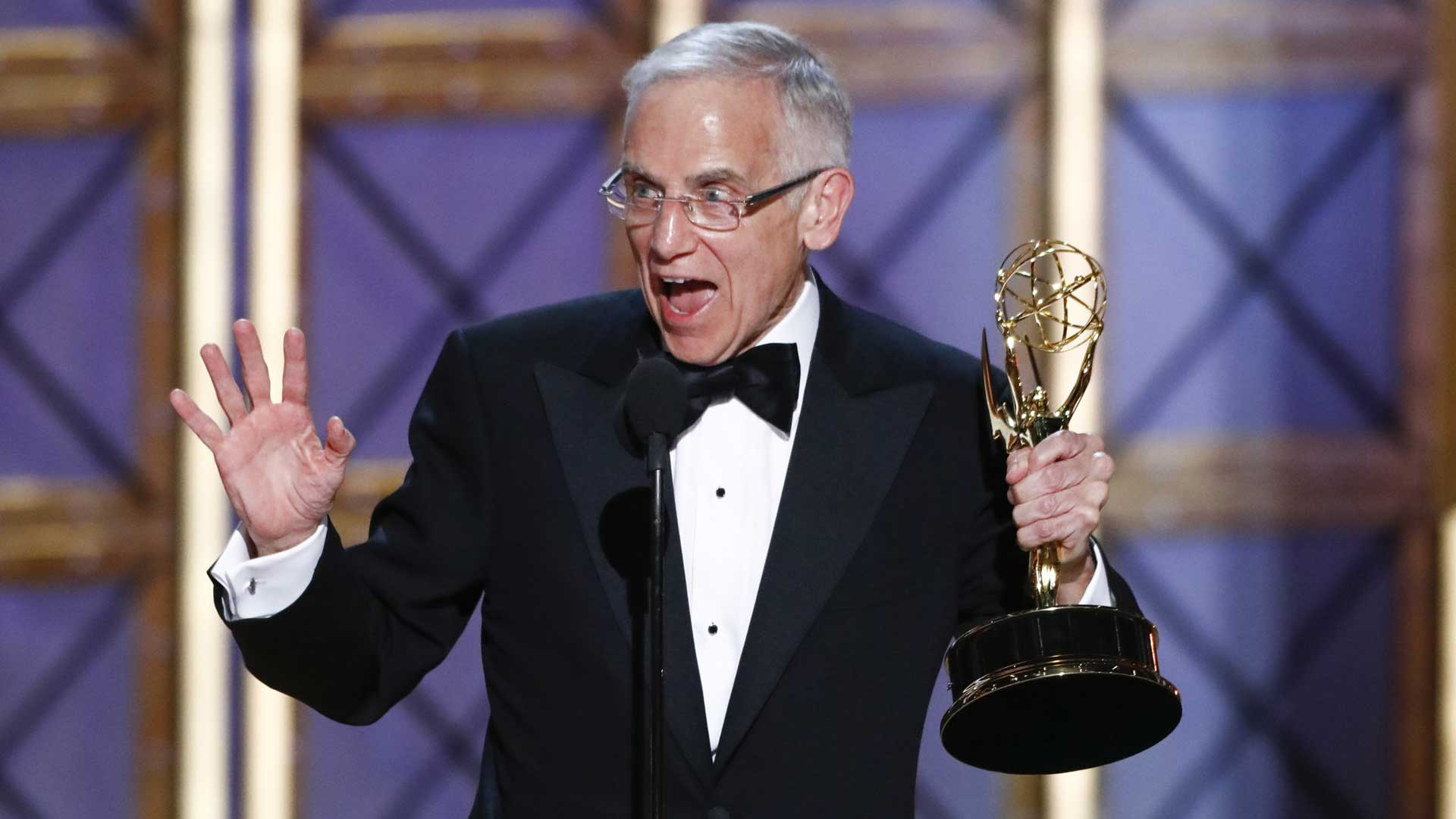 Don Roy King wins Outstanding Directing for a Variety Series at The 69th Emmy Awards.