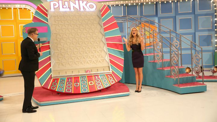 The first ever Plinko contestant scored big.