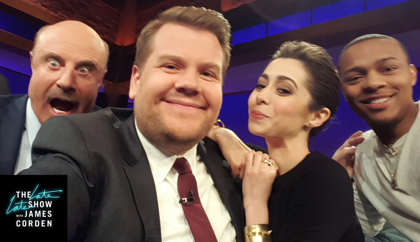 Dr. Phil, Cristin Milioti and Shad Moss