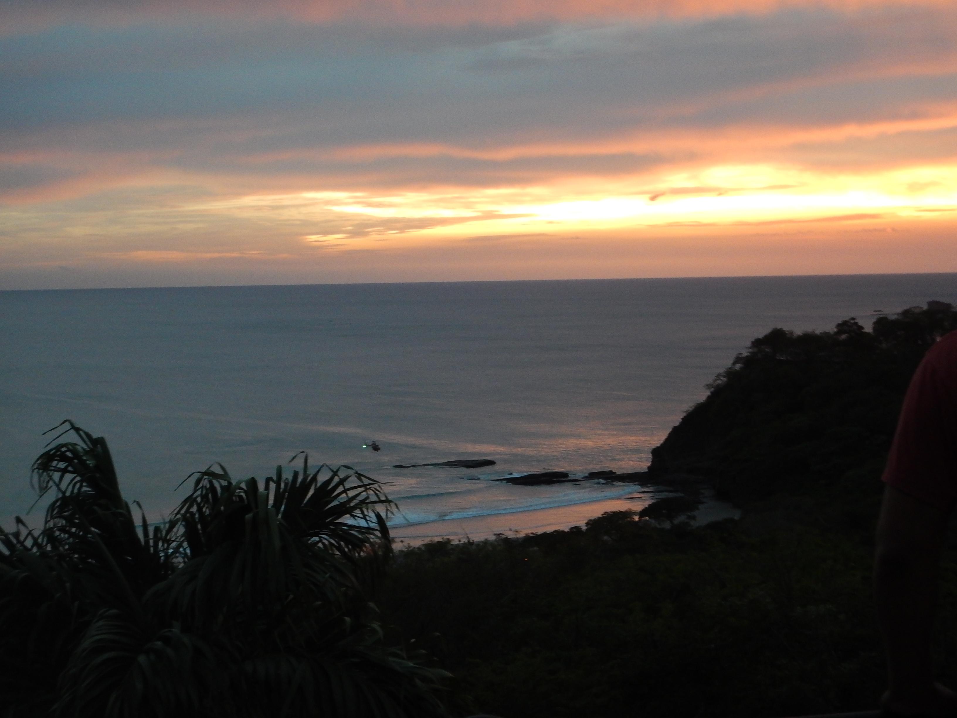 A seriously amazing sunset
