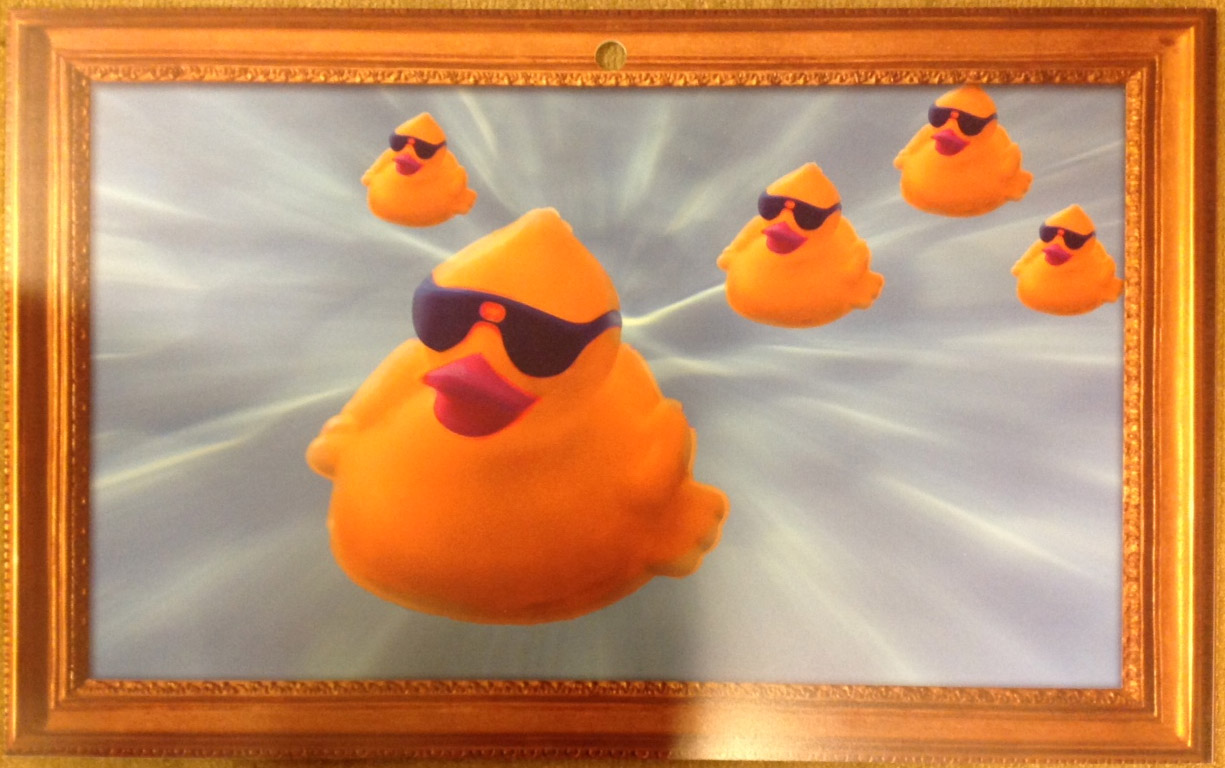 Ducky Painting