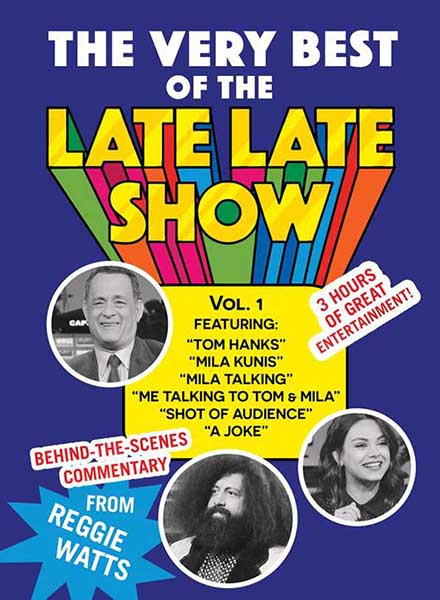 A true Late Late Show with James Corden collector's item.