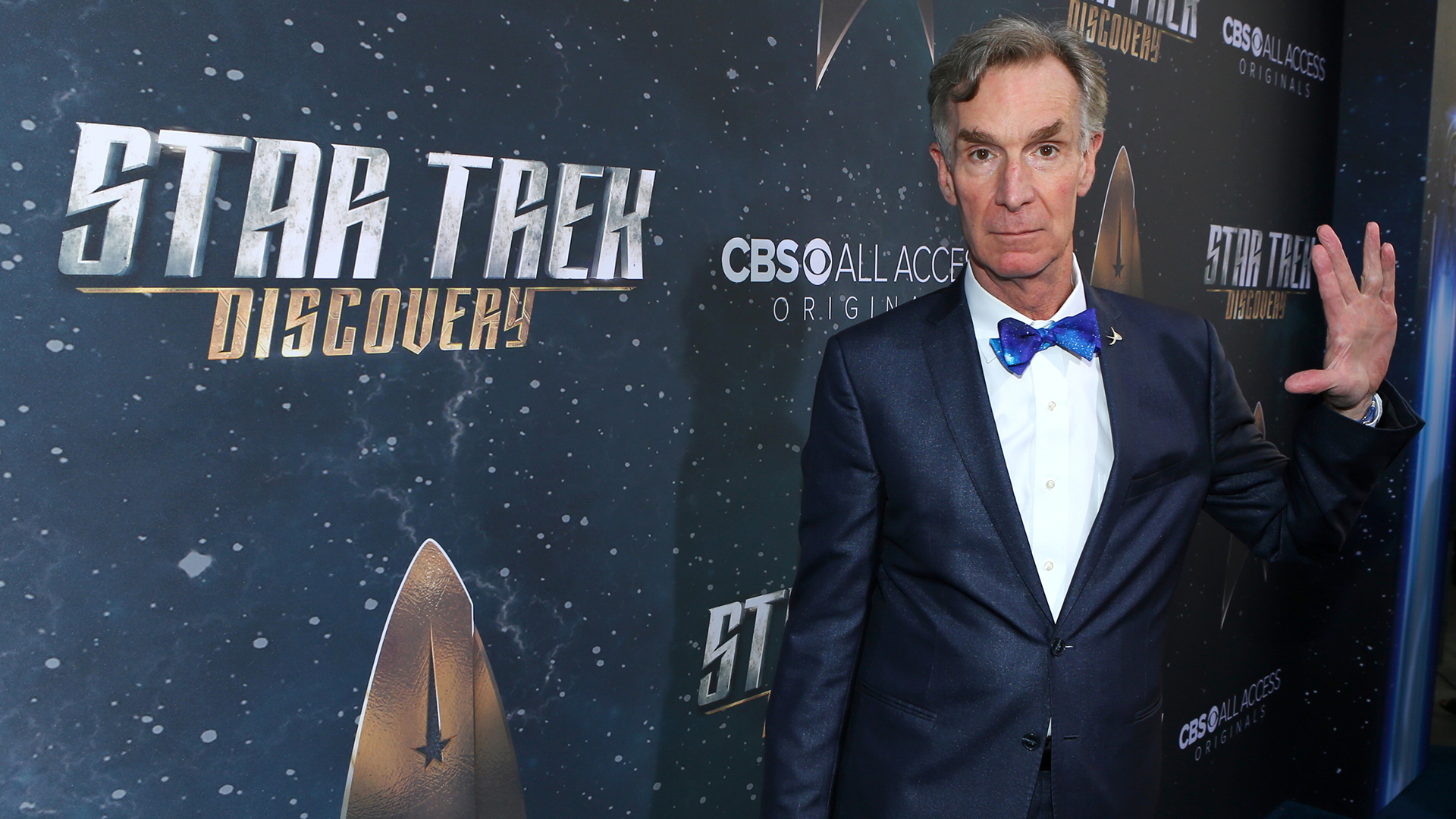 Scientist and TV personality Bill Nye