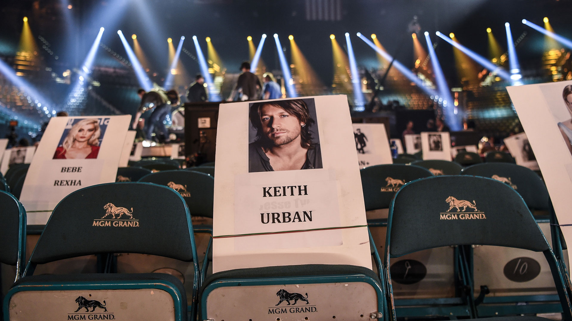 Keith Urban's got his seat reserved for the big show.