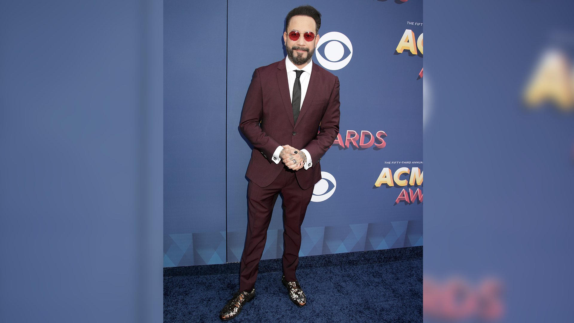 After performing with Florida Georgia Line last year, Backstreet Boys' AJ McLean is back in Vegas for Country Music's Party of the Year.
