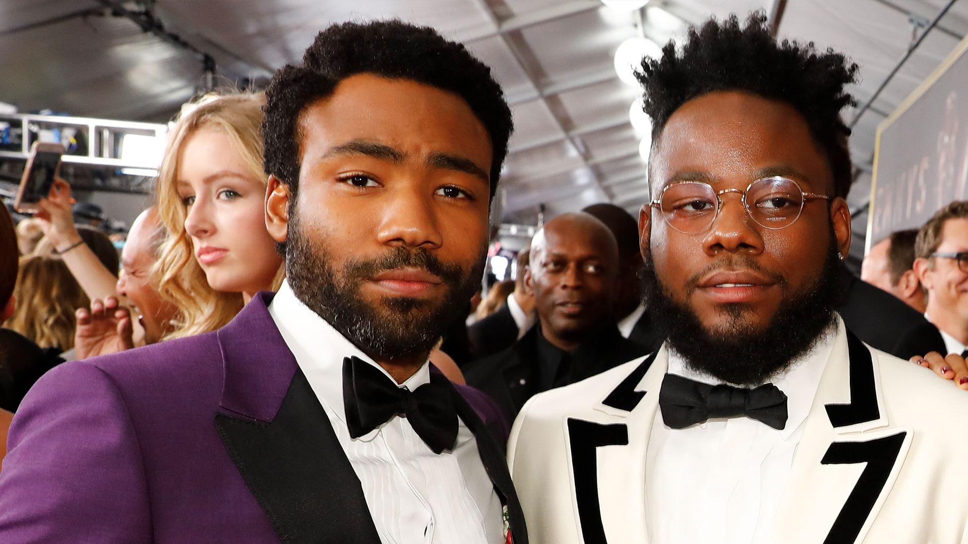 Donald Glover and Stephen Glover from Atlanta