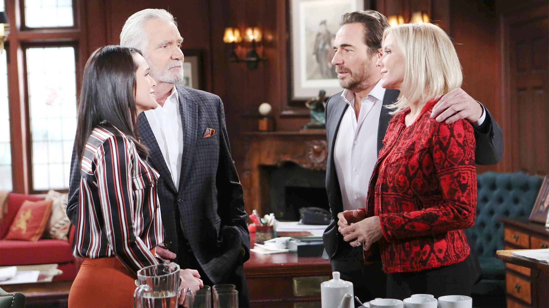 Joyful that they have all come full circle, Quinn makes Ridge and Brooke a generous offer.