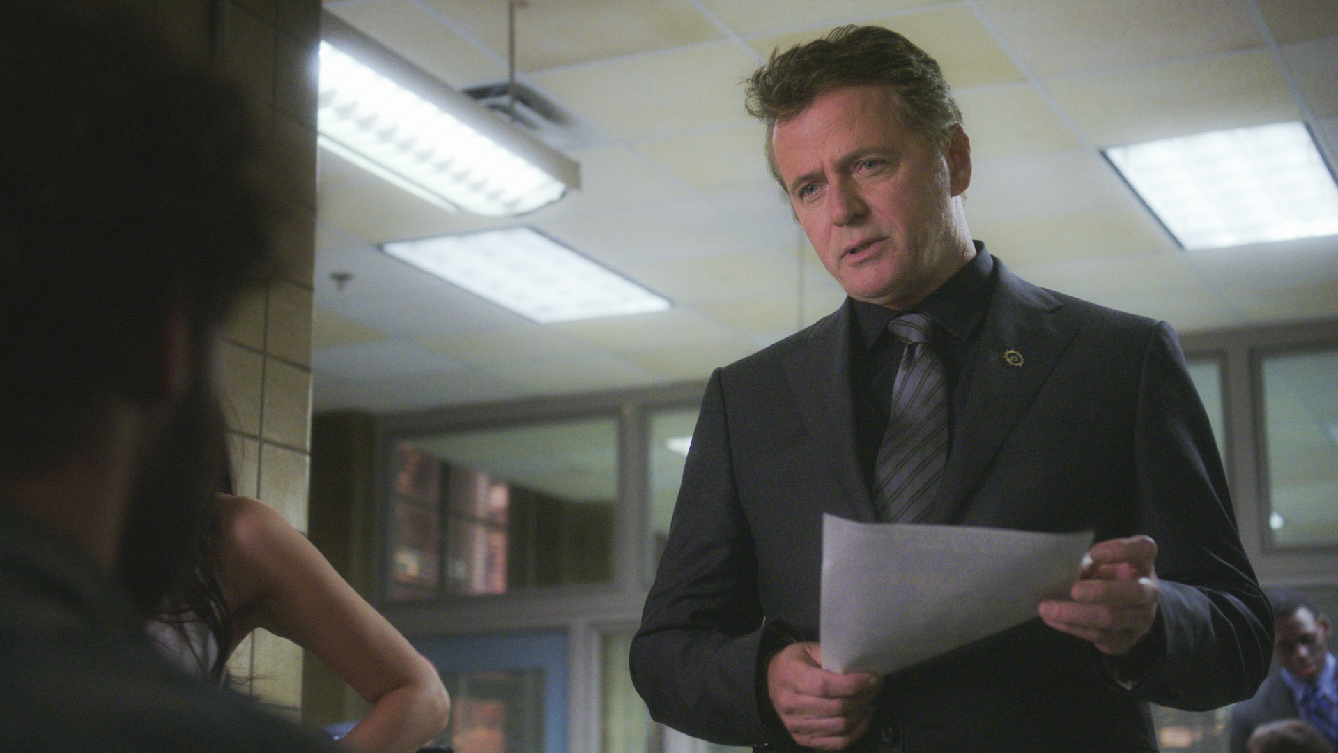 Aidan Quinn as Captain Thomas Gregson