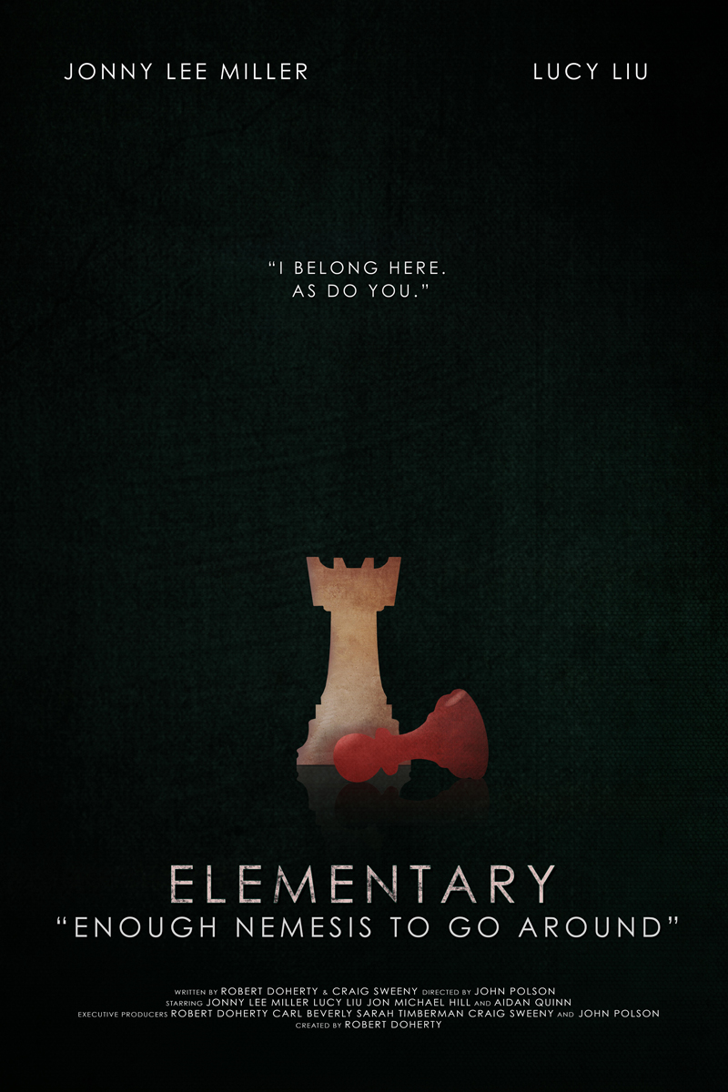 Elementary Season 3 Posters - Elementary Photos - CBS com