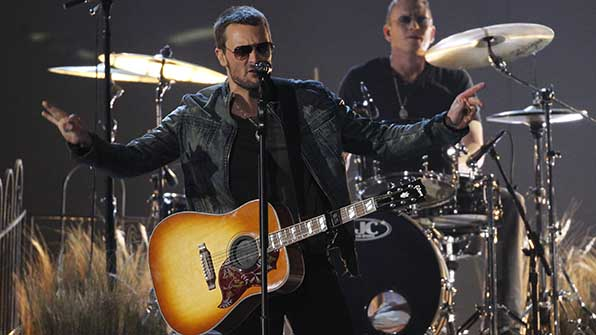 Eric Church is nominated twice in the Song of the Year category.
