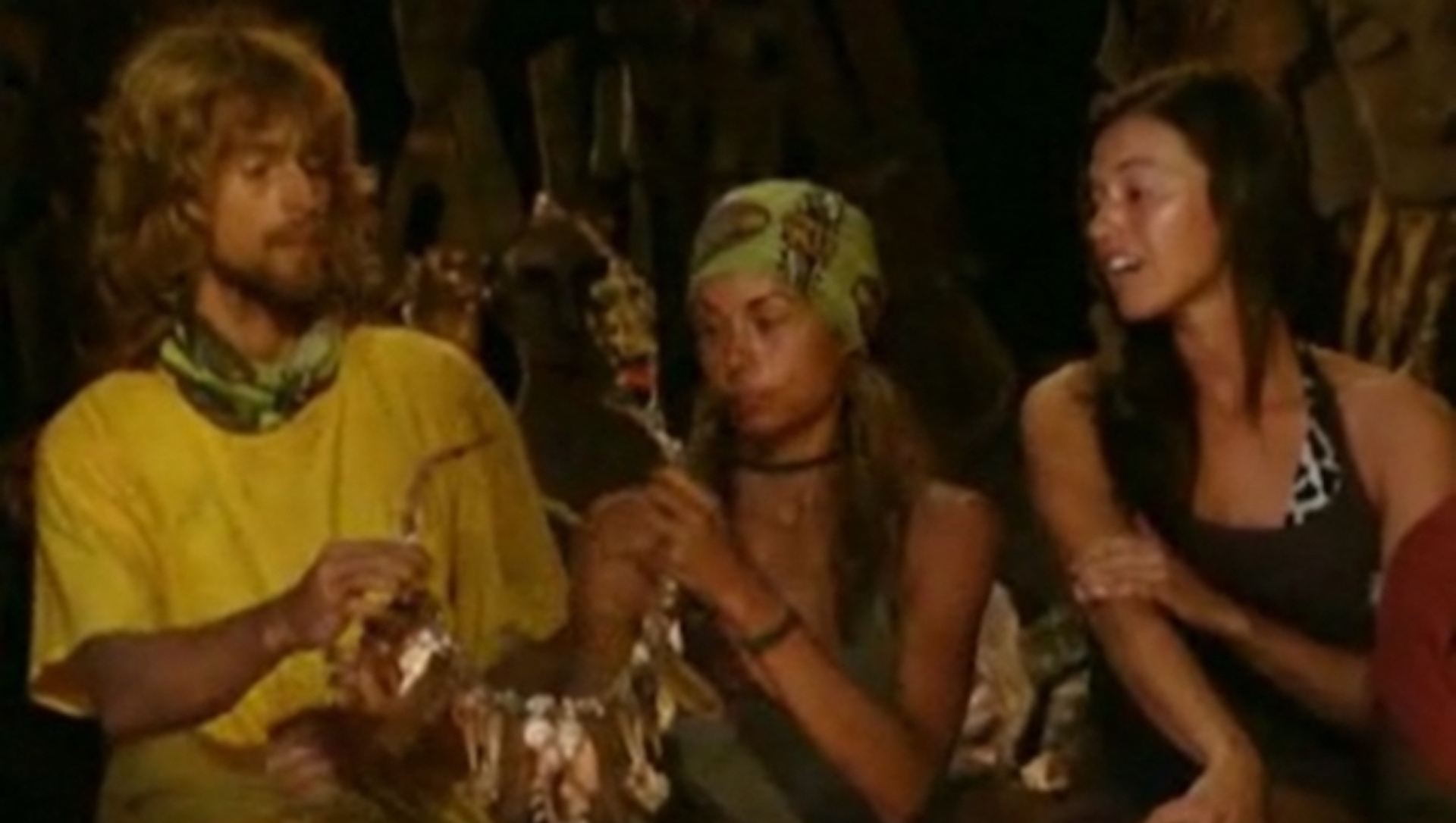 Erik Reichenbach is blindsided on Survivor: Micronesia