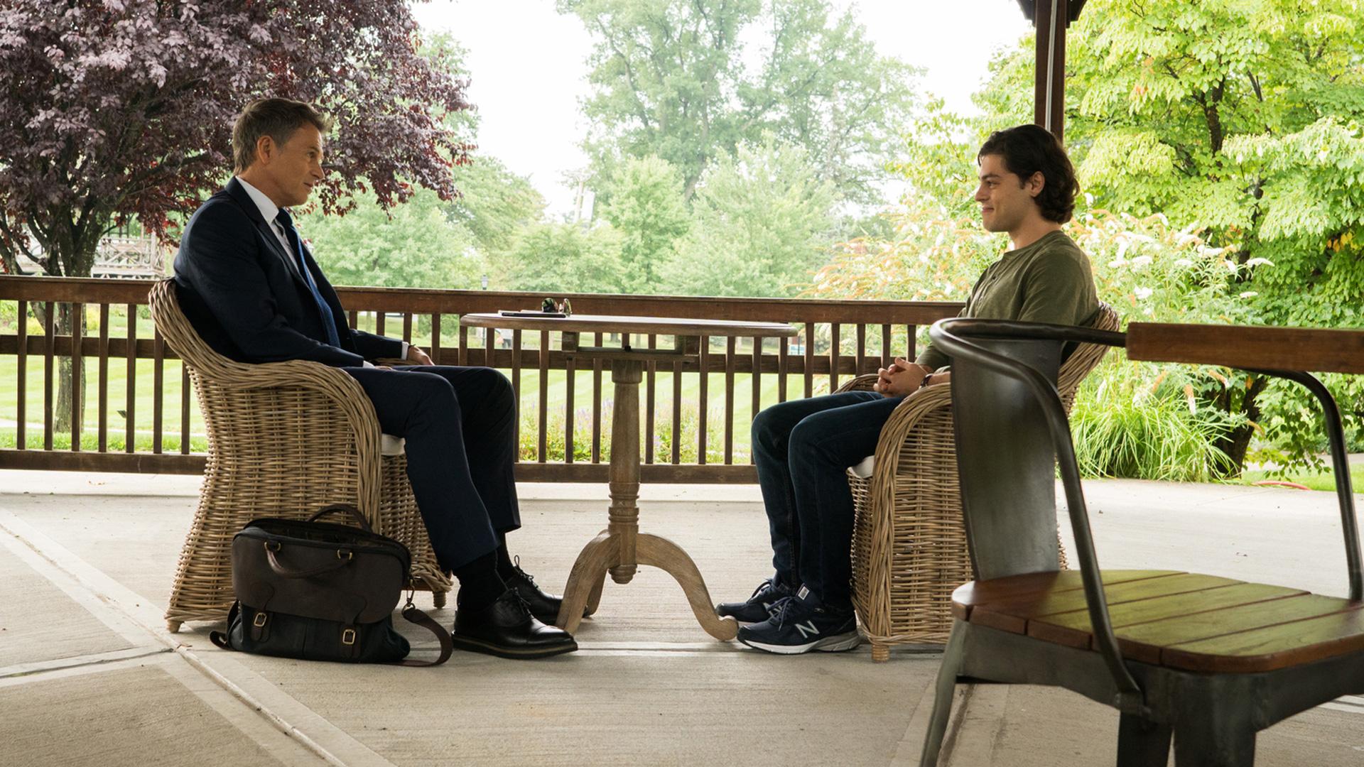 Tim and Chris face off in this Madam Secretary scene.