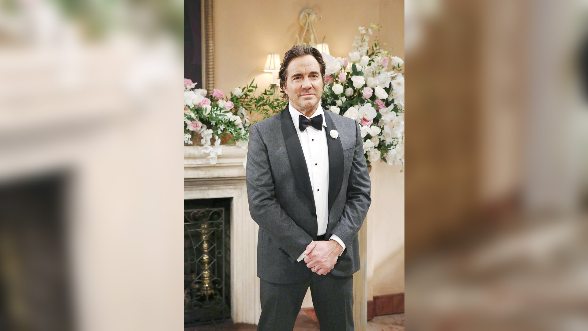 Ridge Forrester (Thorsten Kaye) stands tall in this handsome tuxedo.