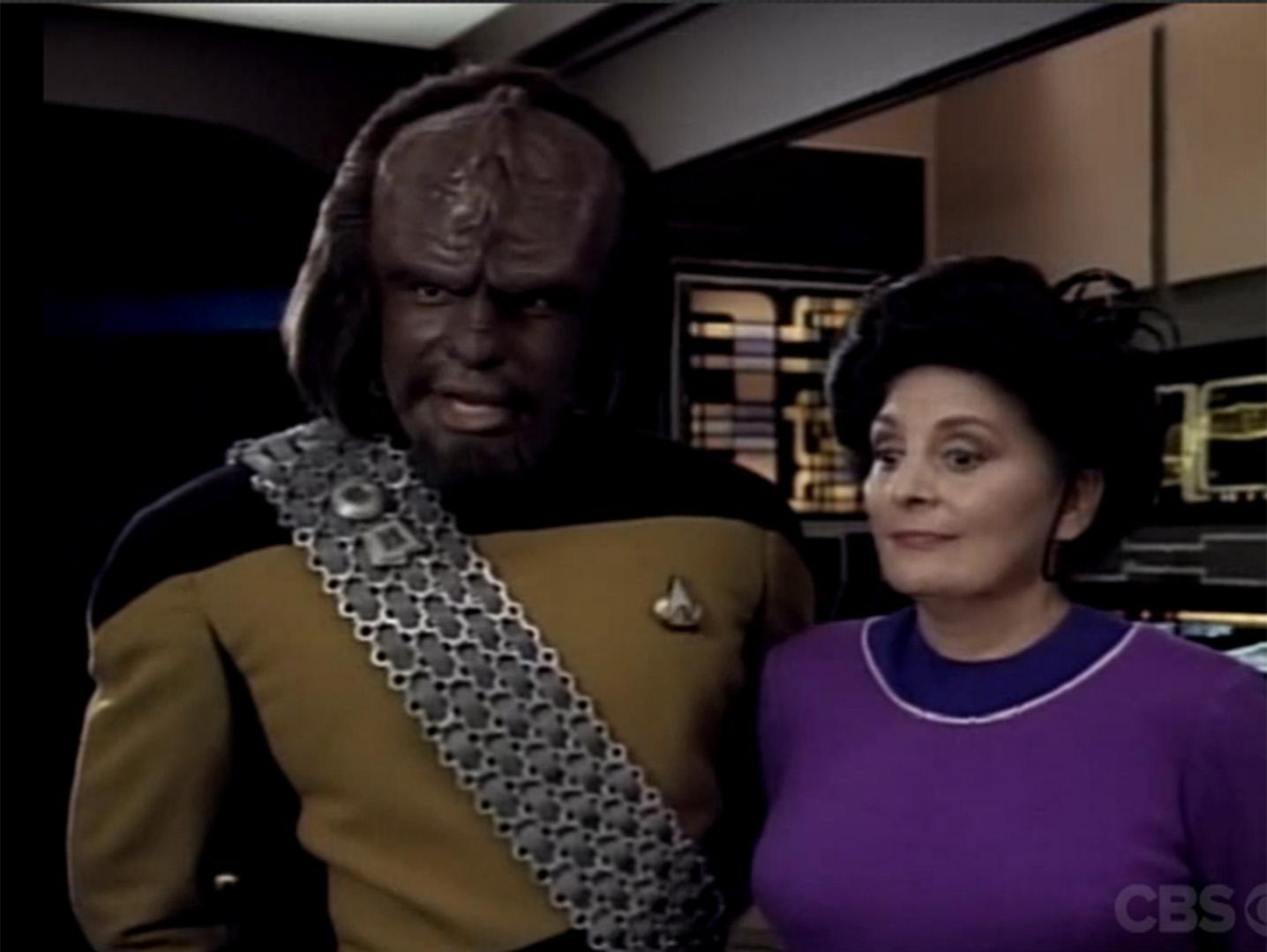 Family (Star Trek: The Next Generation, Season 4, Episode 2)