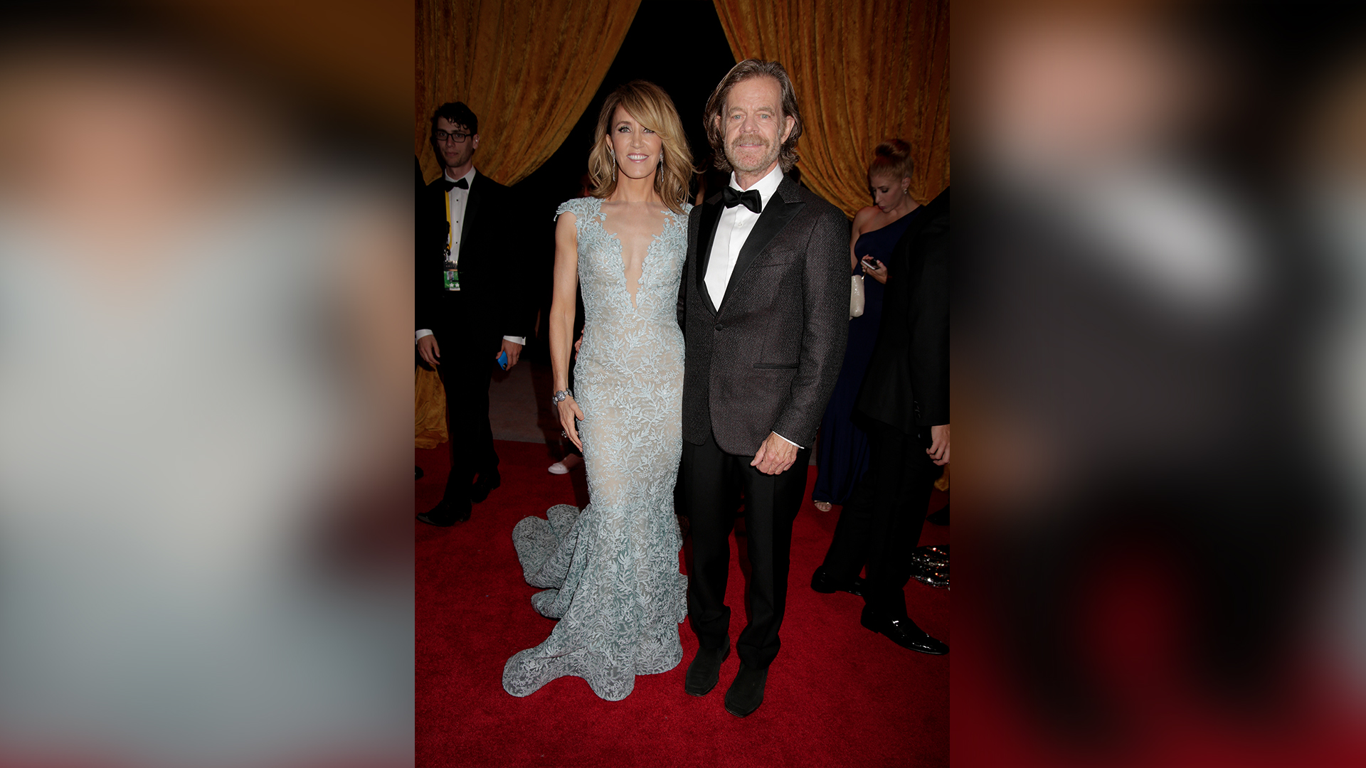Felicity Huffman from American Crime and actor William H. Macy from Shameless