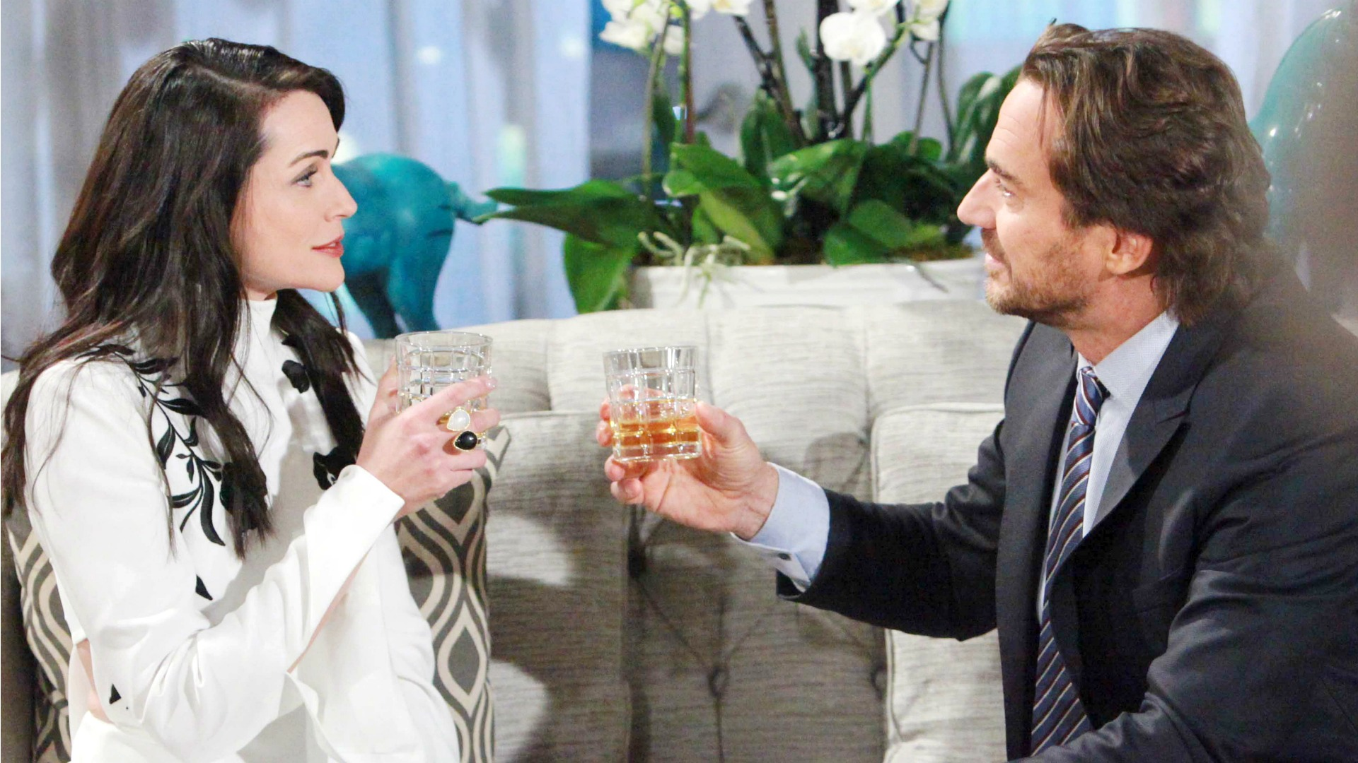 Quinn calls Ridge out on his manipulative scheme to make her look bad to Eric.