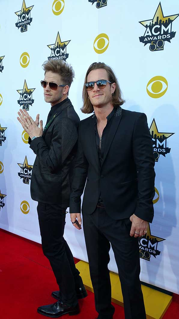 13 & 14. Brian Kelley and Tyler Hubbard