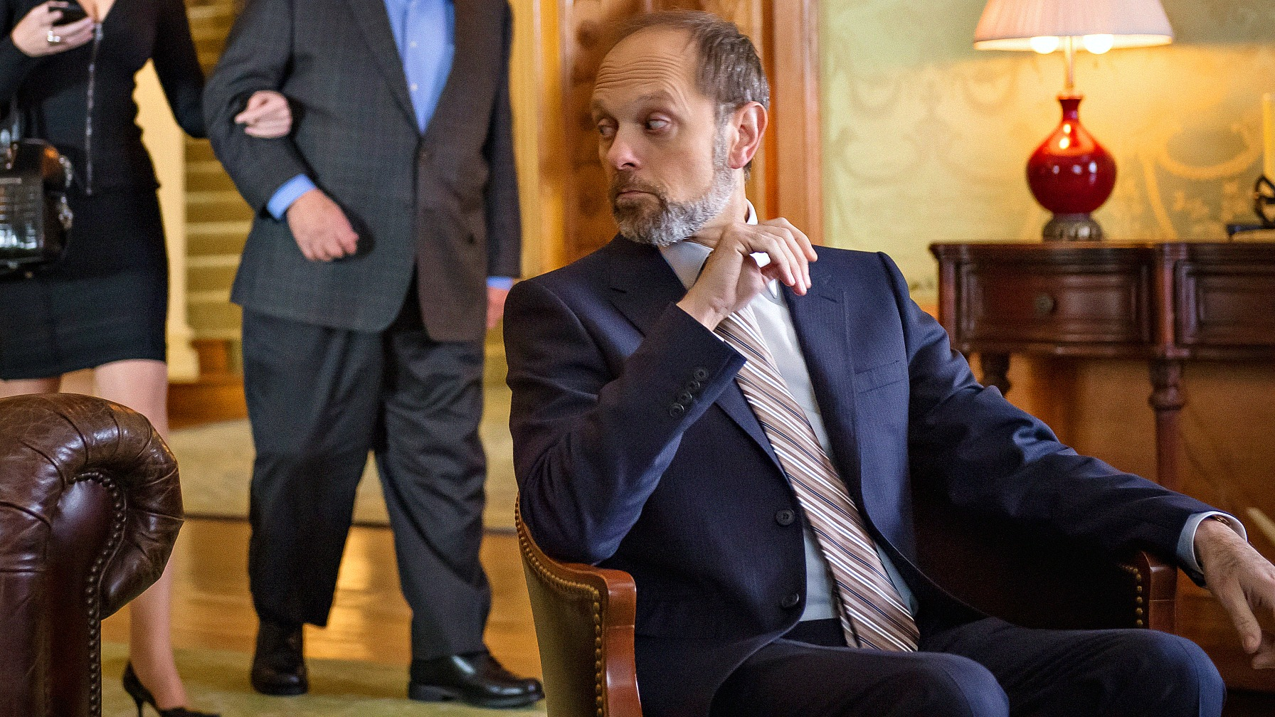 David Hyde Pierce as Frank Prady