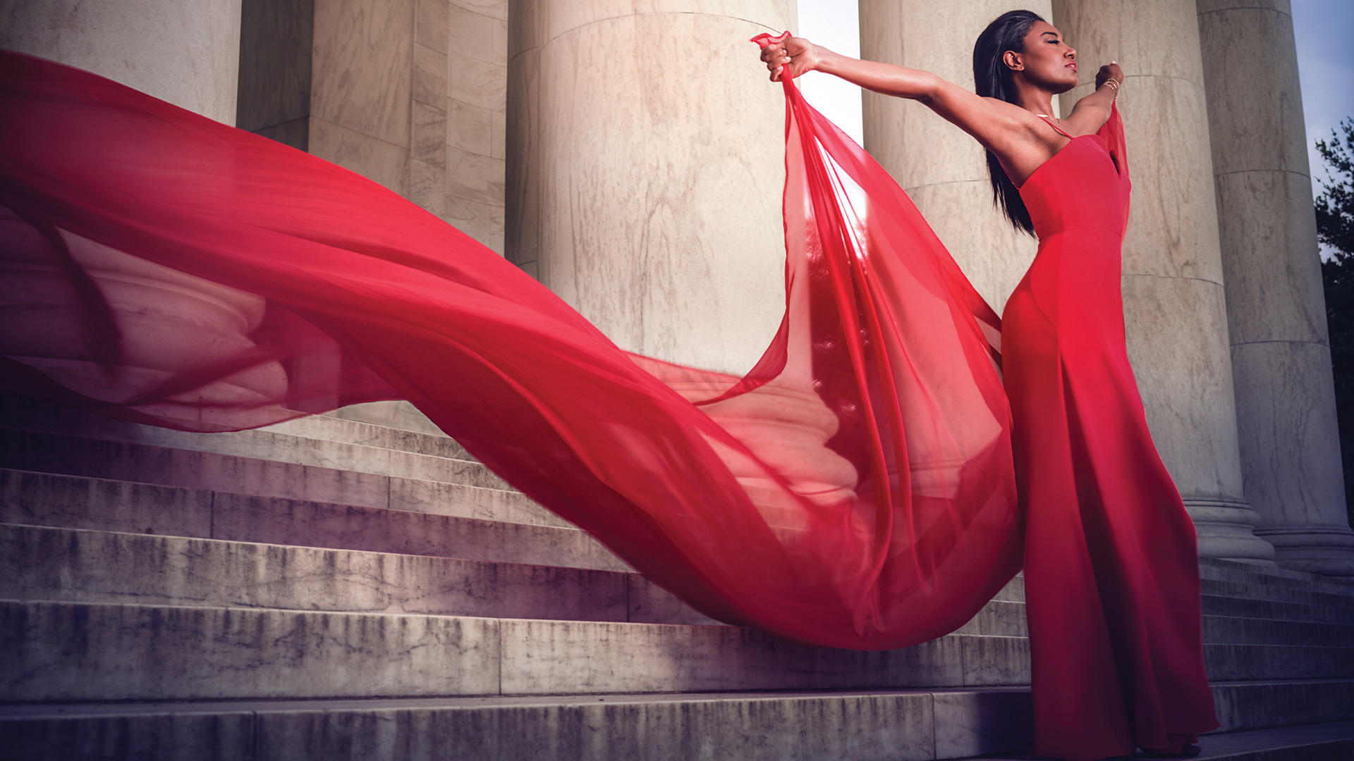 Patina Miller, especially when she stuns in a monumental shoot