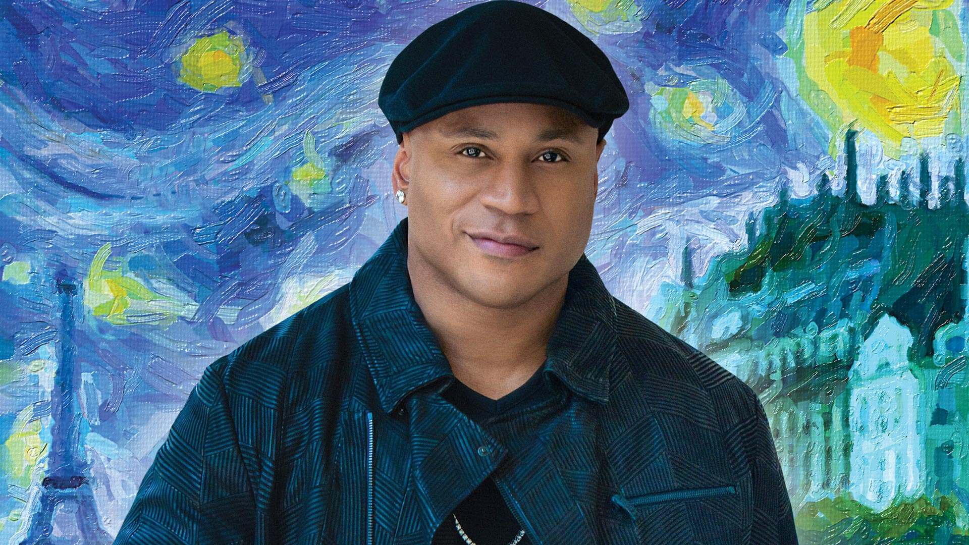 LL COOL J, especially when he shows his artistic side