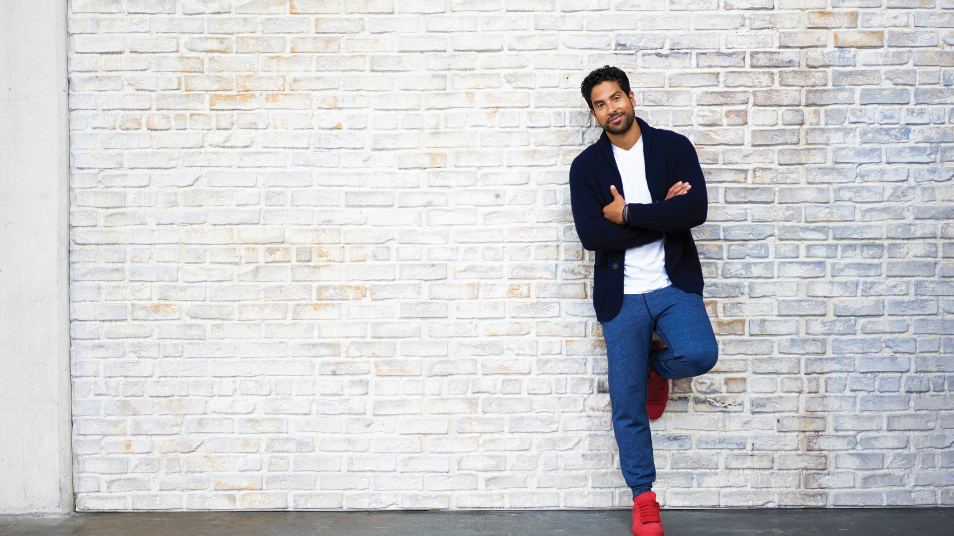 Adam Rodriguez, especially when he makes casual look haute