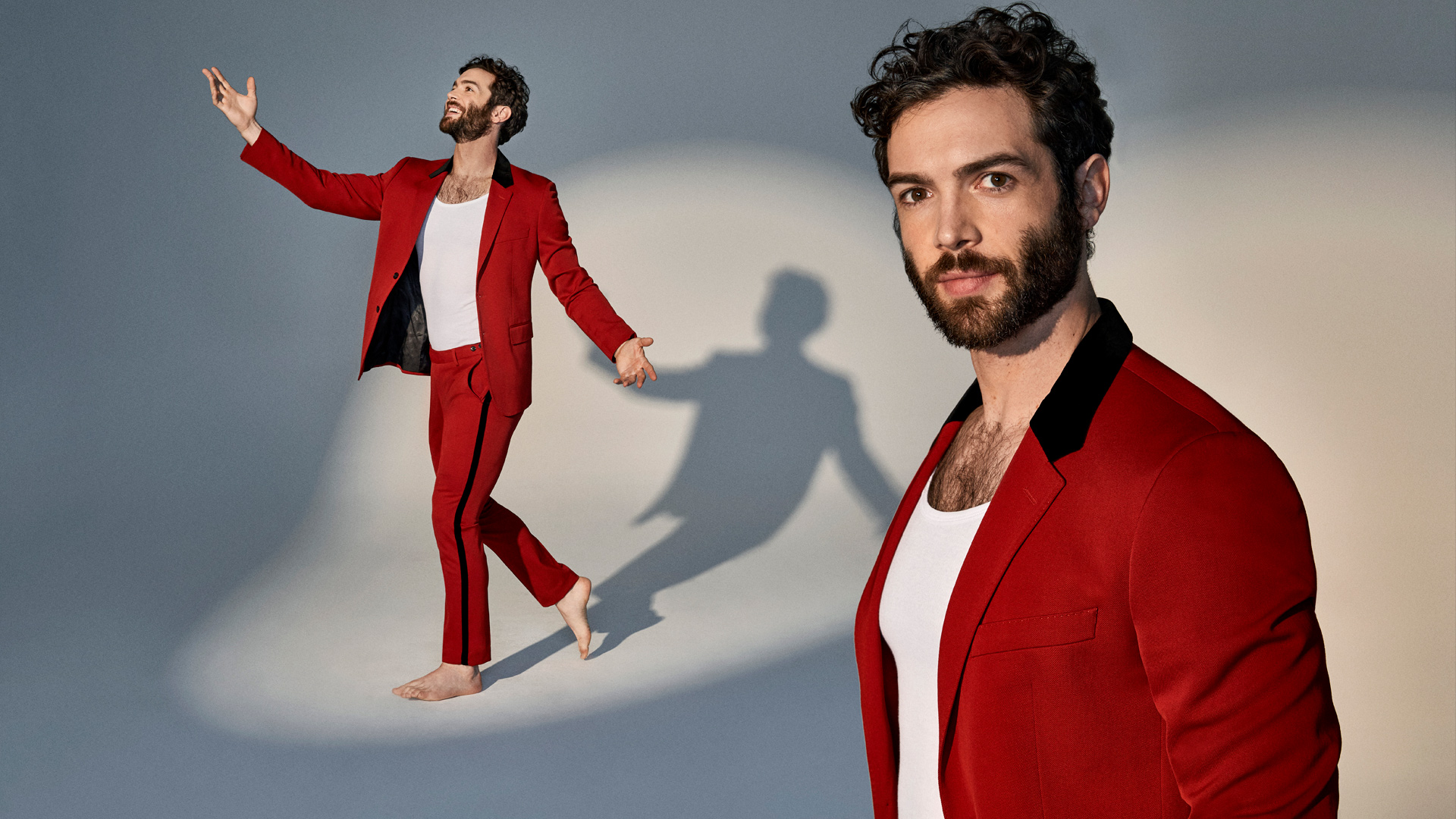 Ethan Peck, especially when he's in the spotlight