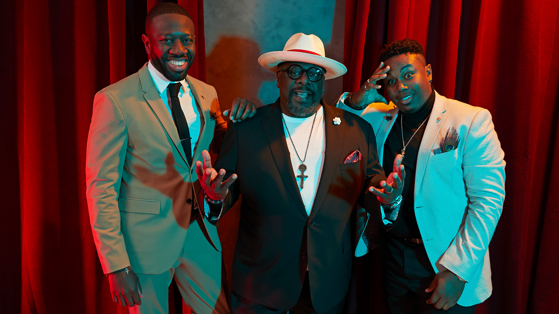 The Neighborhood: Sheaun McKinney, Cedric the Entertainer, and Marcel Spears