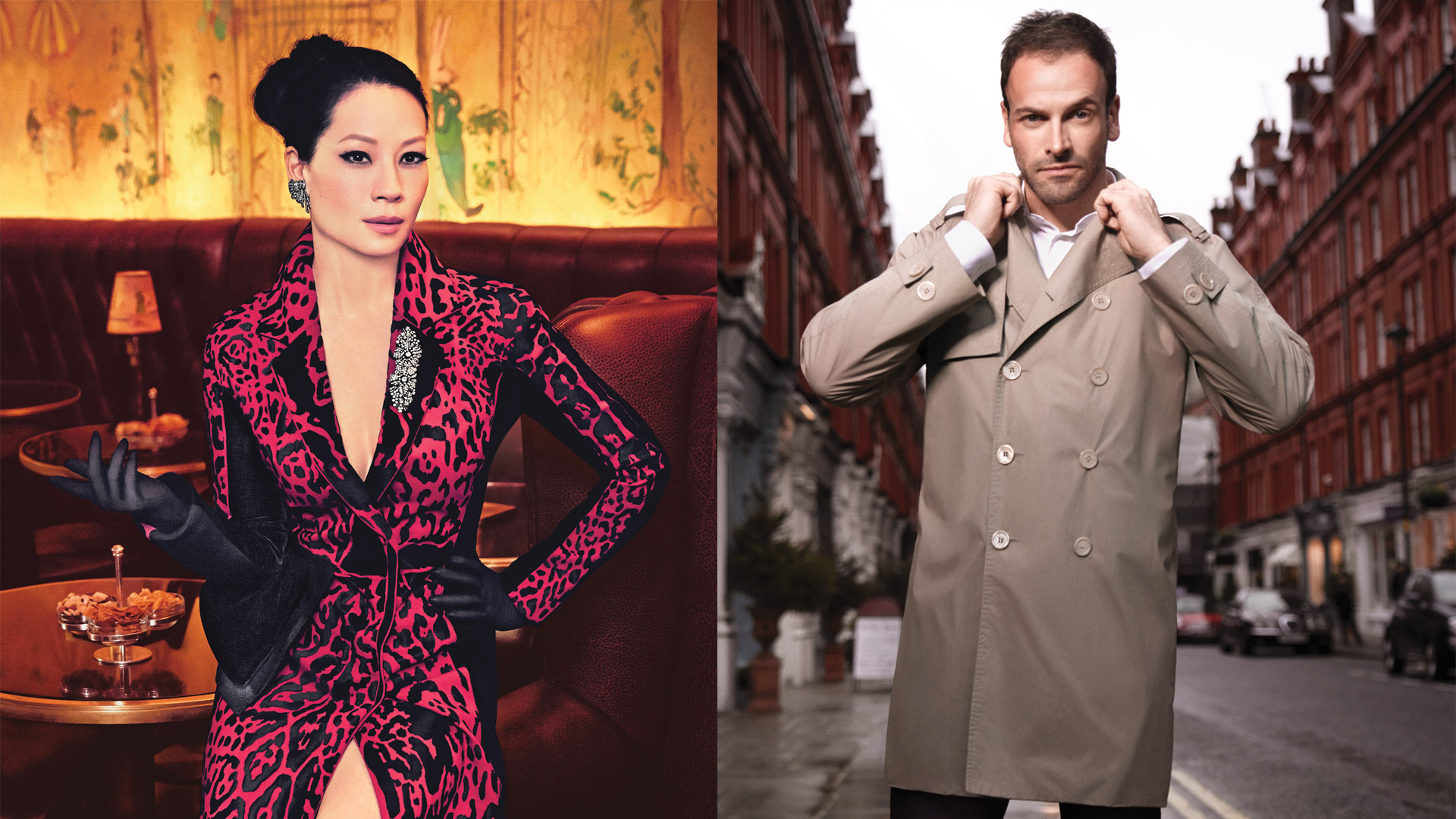 Elementary: Lucy Liu and Jonny Lee Miller