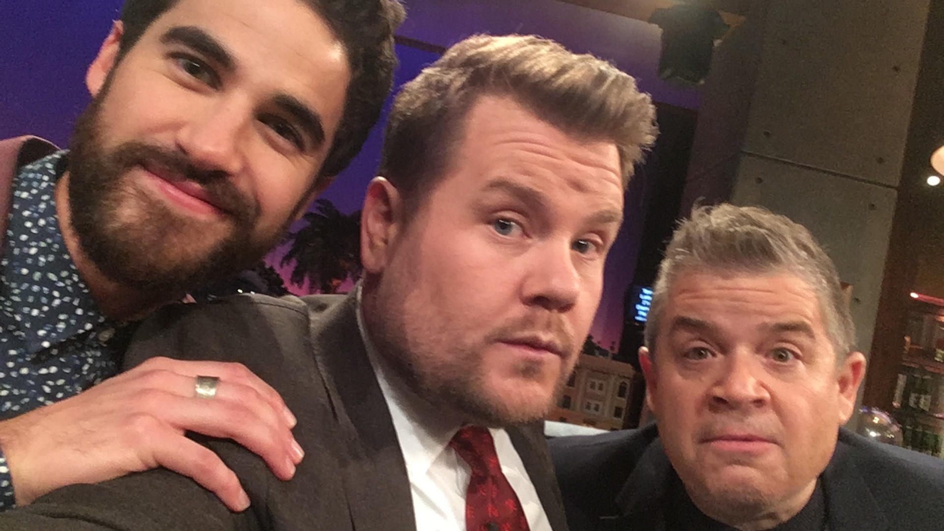 Darren Criss & Patton Oswalt