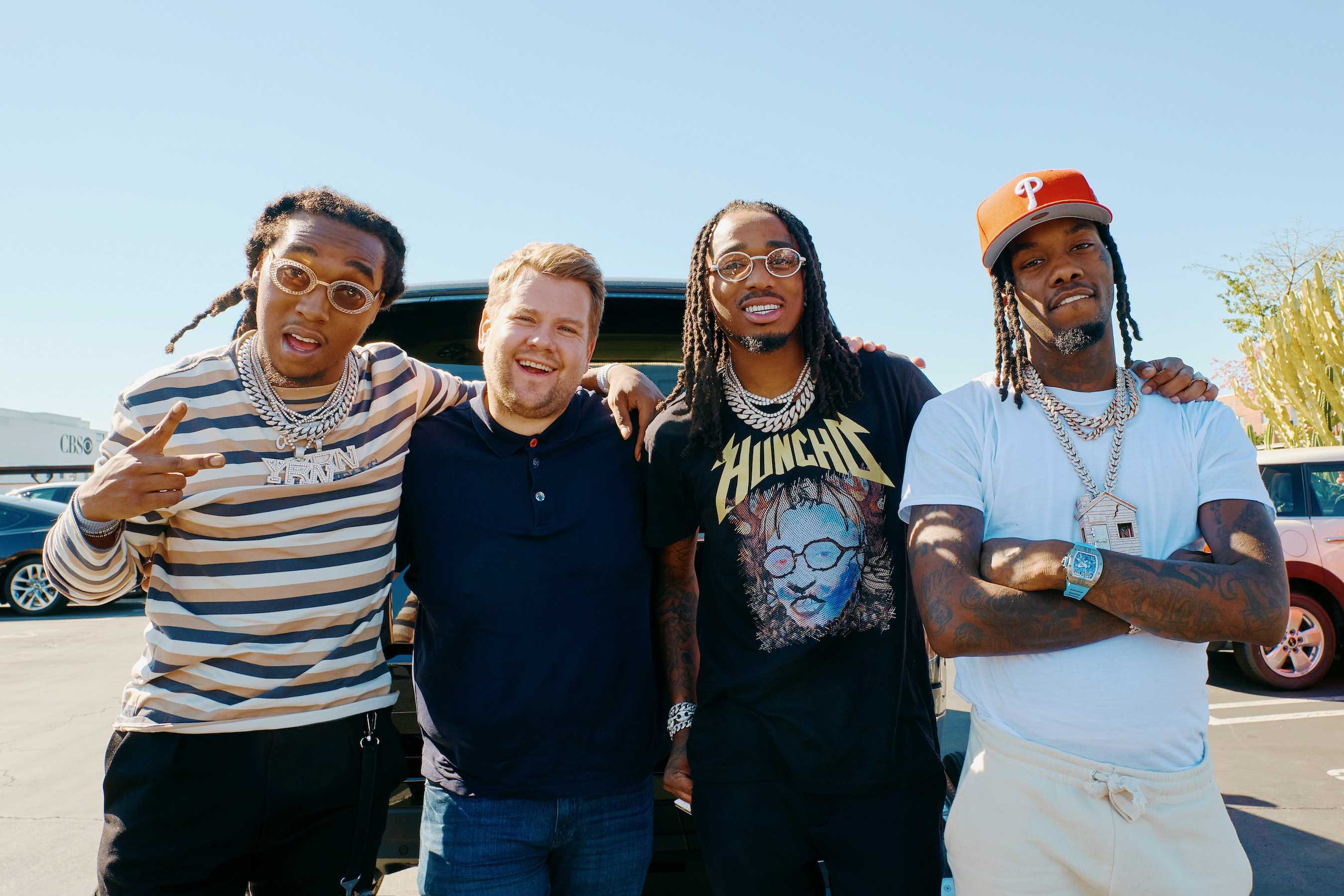 Migos featuring James Corden