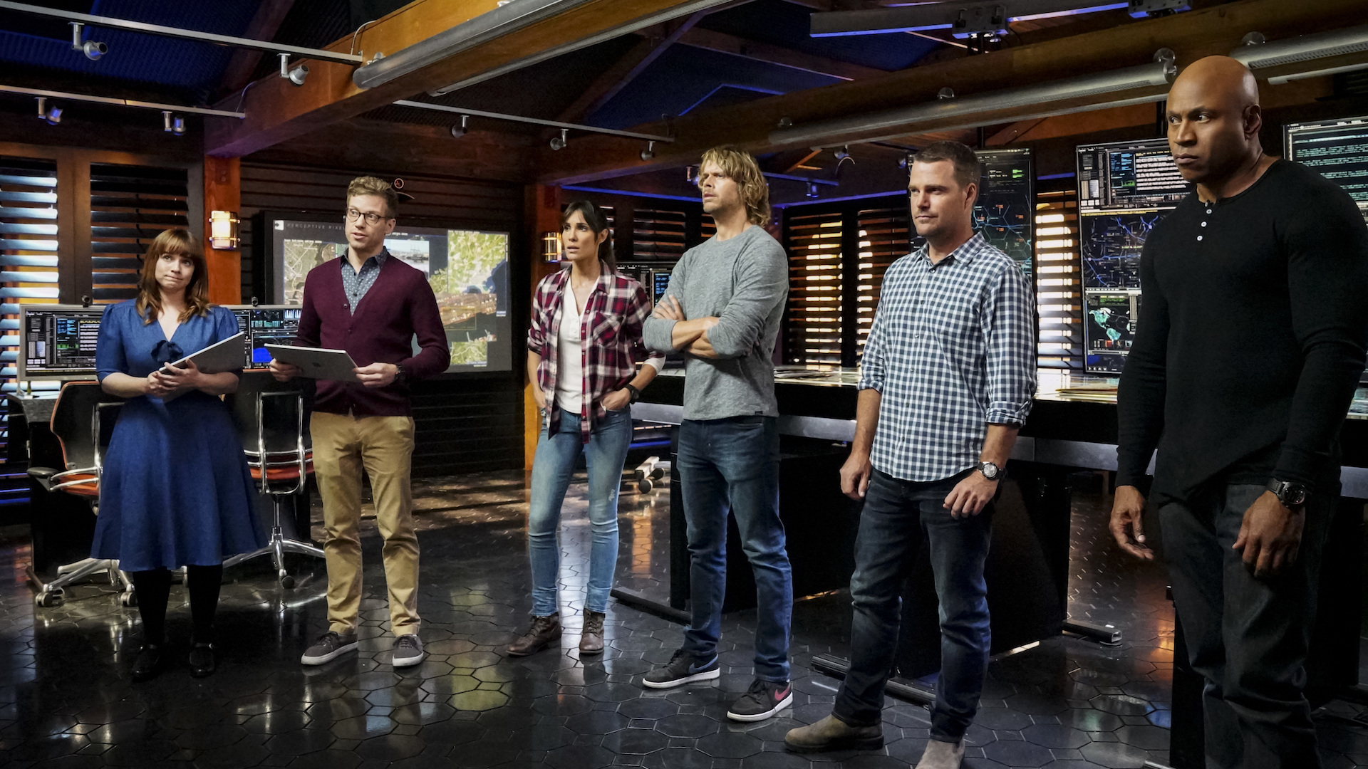 NCIS: Los Angeles evaluates a potential terror threat in