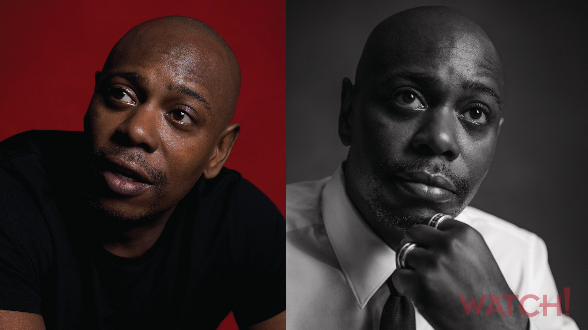 Dave Chappelle gets pensive