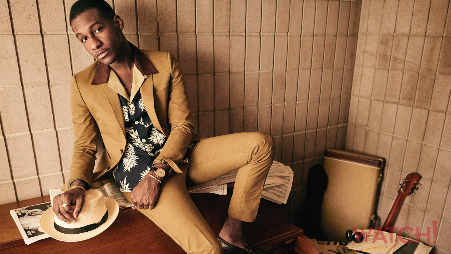 Leon Bridges oozes with '70s swagger