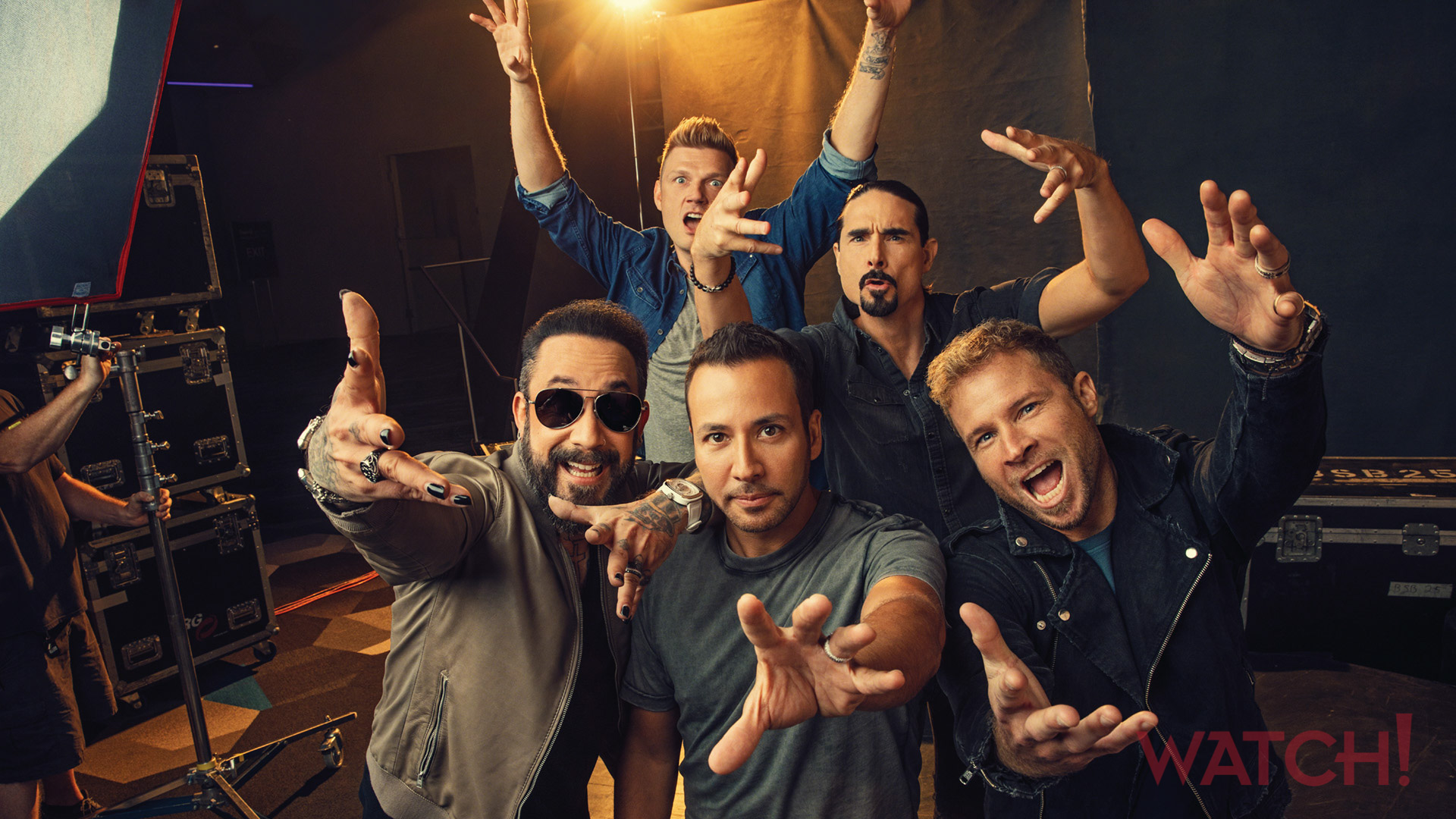 The Backstreet Boys are reaching for the gold