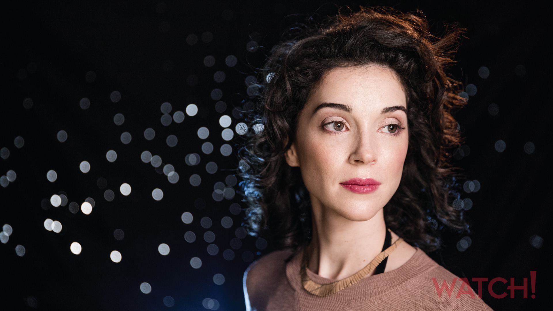 St. Vincent surrounds herself in sparkles